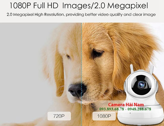 Camera Yoosee 1.0M HD 720P - Camera IP Wifi Yoosee 2.0M Full HD 1080P giá rẻ tại Hải Nam