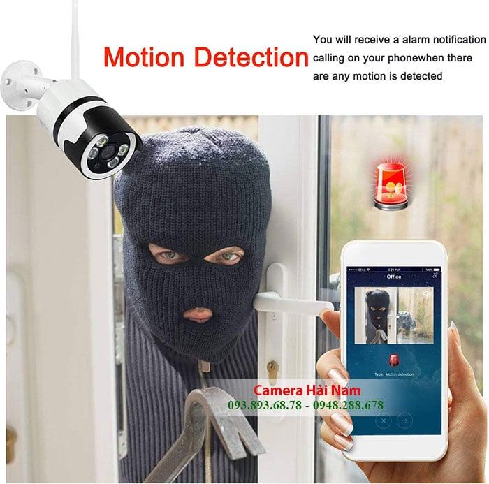 Camera Wifi ngoài trời giá rẻ, có đàm thoại, hồng ngoại, có màu ban đêm