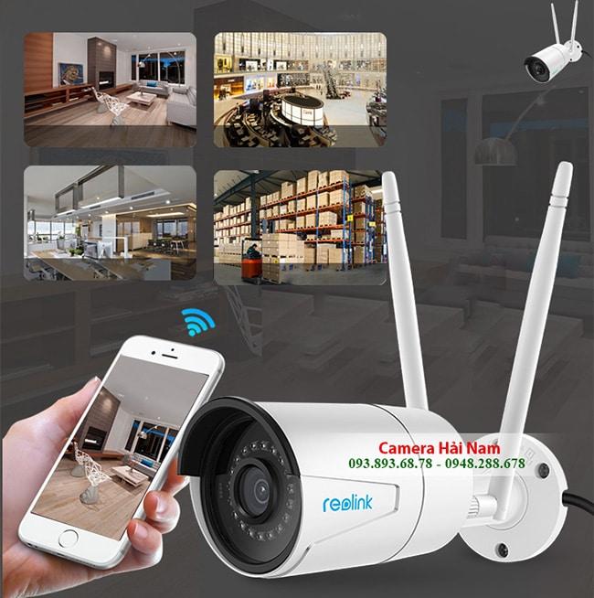 Camera wifi ngoài trời Reolink RLC-410W siêu nét chất lượng gần 2K [2560x1440]p, chống nước tốt, IR 30m, hỗ trợ NVR ghi âm