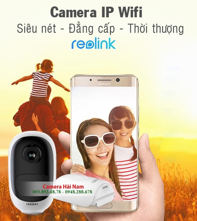 Camera IP Wifi ngoài trời dùng PIN Reolink Argus 2 Full HD, Góc rộng 130 độ, Đàm thoại, Báo trộm cực nhạy
