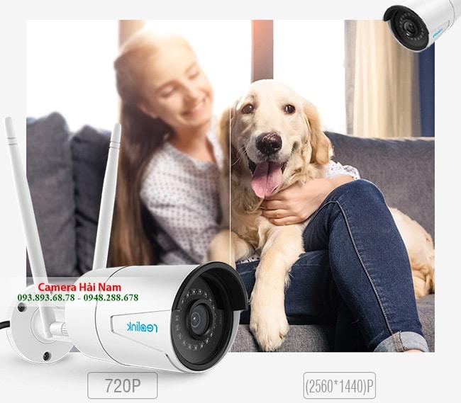 Camera IP ngoài trời Reolink RLC-410W Super HD 4MP (2560*1440)p, Hồng ngoại chiếu xa 30m, Hỗ trợ ghi âm bằng NVR