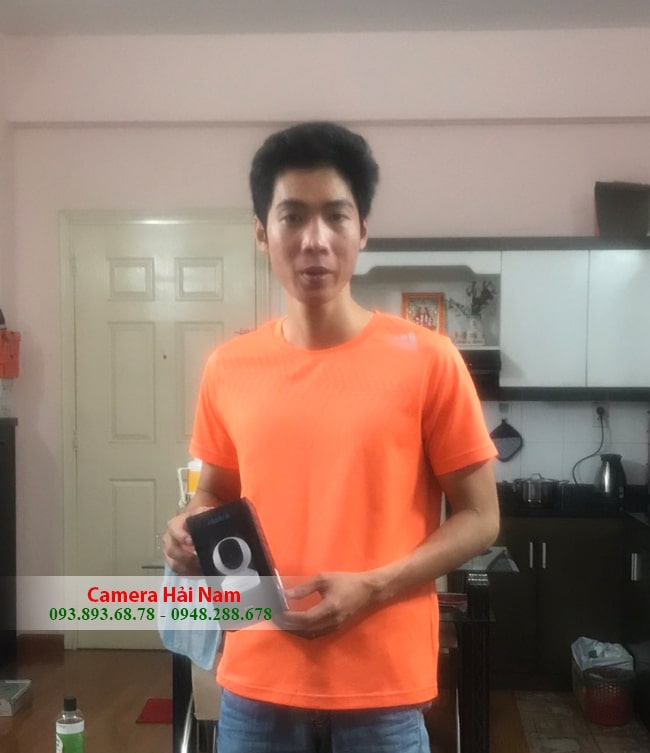 khách hàng mua camera ip wifi Reolink siêu nét 4MP Super HD