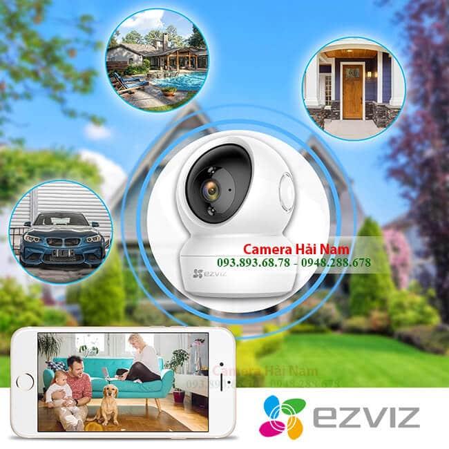 Camera EZViz 2.0 Full HD 1080P Quay quét chuyển động 360 độ thông minh Chính hãng - Lắp đặt EZViz camera GIÁ RẺ tại Hải Nam