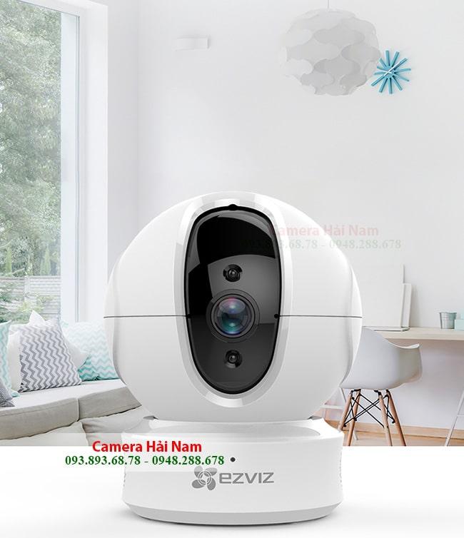 Camera EZViz 1.0 HD 720P Quét chuyển động, Xoay 360° thông minh | Hải Nam bán & lắp đặt EZViz camera Chính hãng, Giá CỰC RẺ - Tặng QUÀ KHỦNG