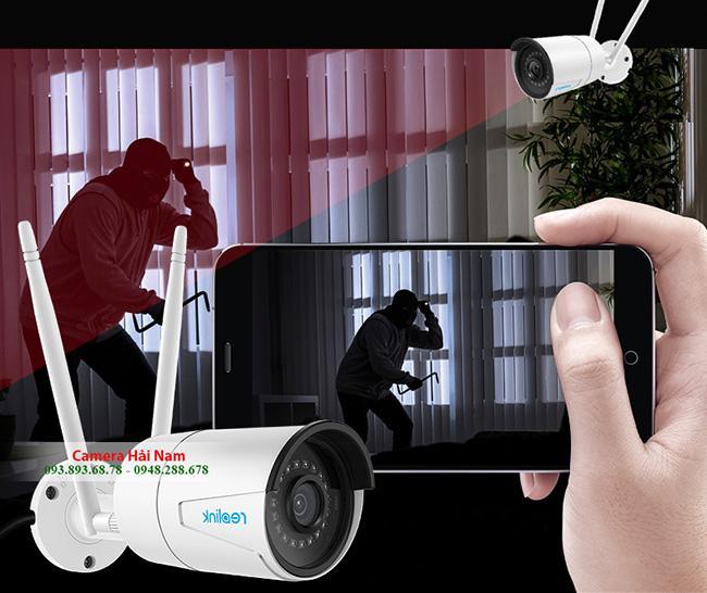 Camera IP Ngoài trời Reolink Siêu nét RLC-410W 4.0MP - 2K (2560*1440)P, Hồng ngoại 30m