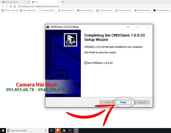 Cài đặt phần mềm CMS xem camera Yoosee trên máy tính đơn giản