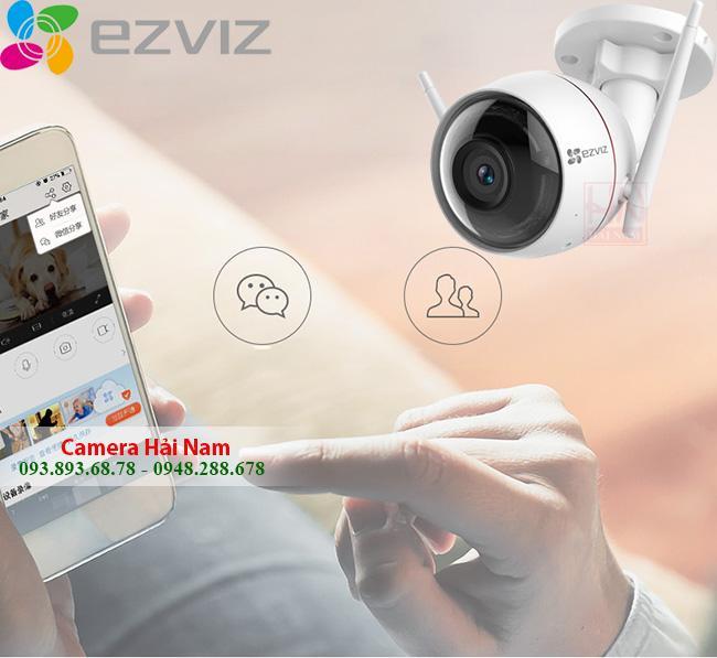 Camera EZViz ngoài trời 2MP Full HD 1080P góc rộng, thông minh