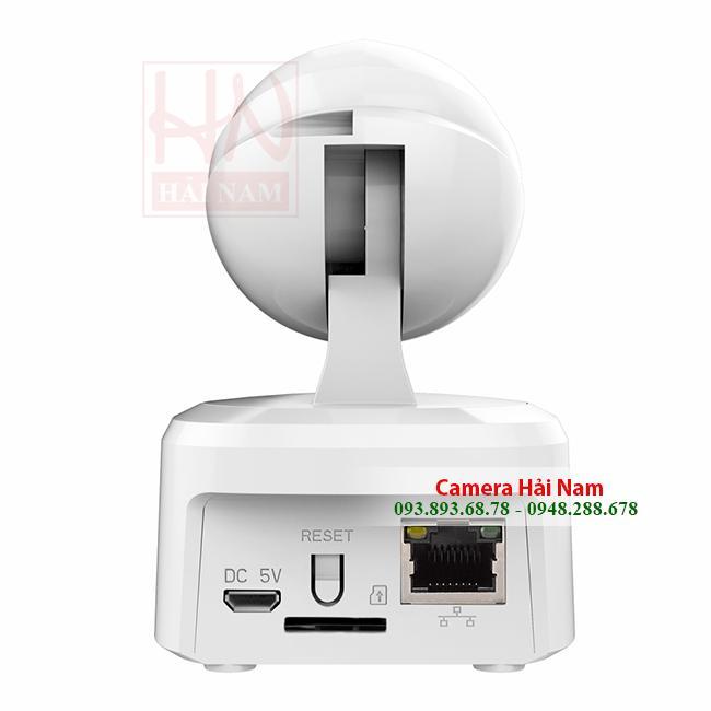 Camera Ebitcam 1MP HD 720P chuẩn nét, xoay 360, báo động liên tục 24h giá rẻ