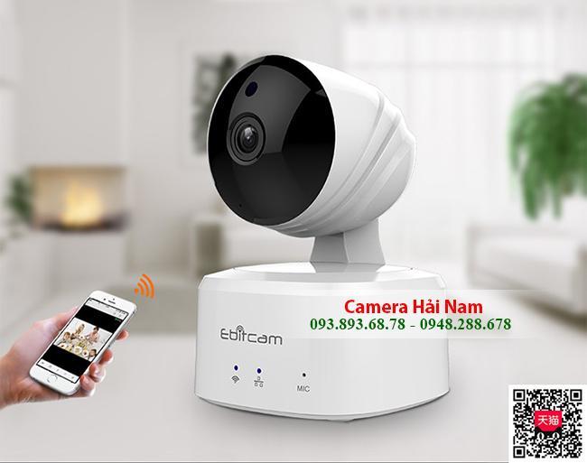 TOP Camera Wifi có LOA đàm thoại 2 chiều, nhỏ gọn, góc rộng, siêu nét
