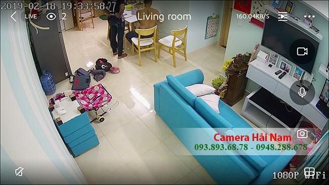 camera an ninh xem qua điện thoại